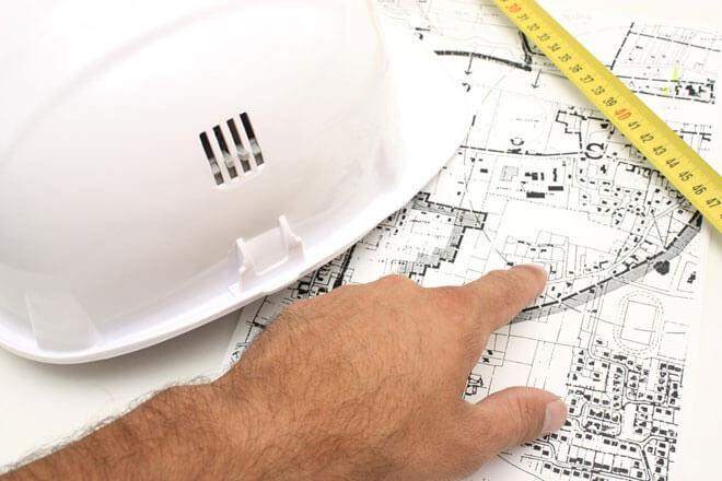 Baustellen Vorbereitung