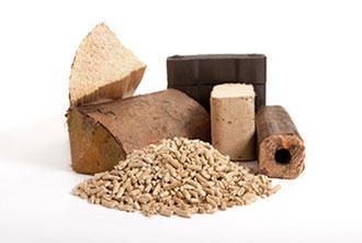 Brennstoffe aus Holzprodukten