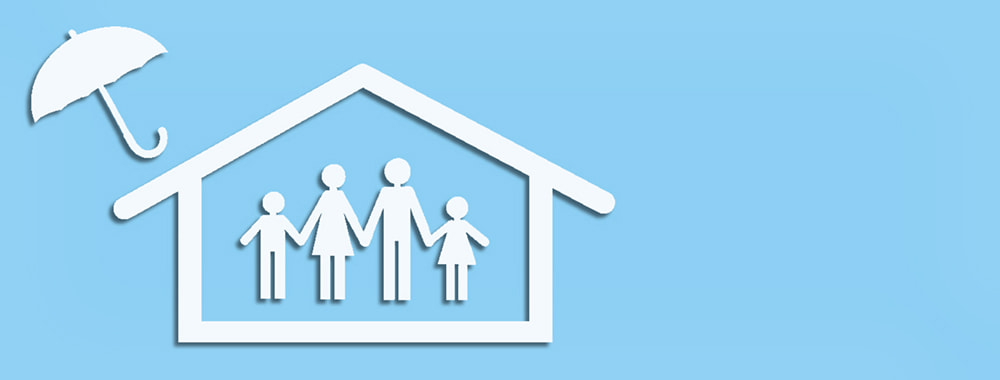 Immobilie und Famile abgesichert