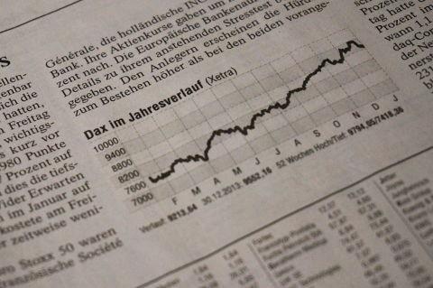 Verlauf des Deutschen Aktienindex