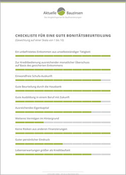 Vorschau: Checkliste zur Bonitätsbeurteilung